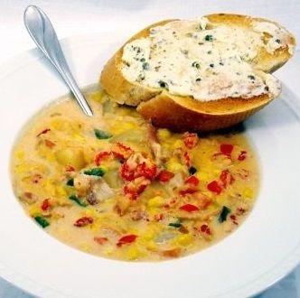 Crawfish and Corn Soup - Authentic Cajun Soup Recipe #cajundishes