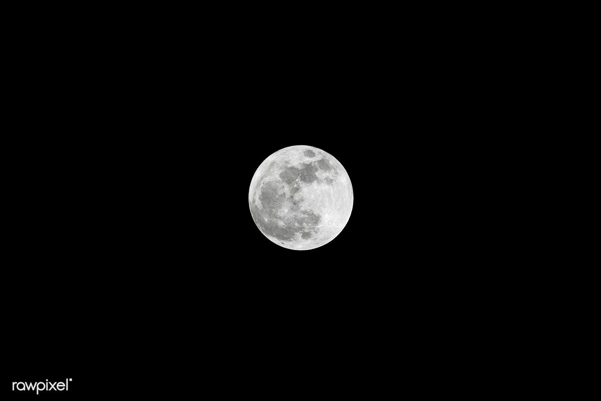 View Of The Super Moon In The Eastern Sky Over Kennedy Space Center In Florida Original From Nasa Digitally Enhanced By Rawpixel Free Image By Rawpixel Com