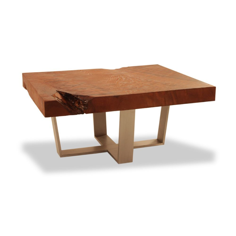 Gentil Redwood Coffee Table