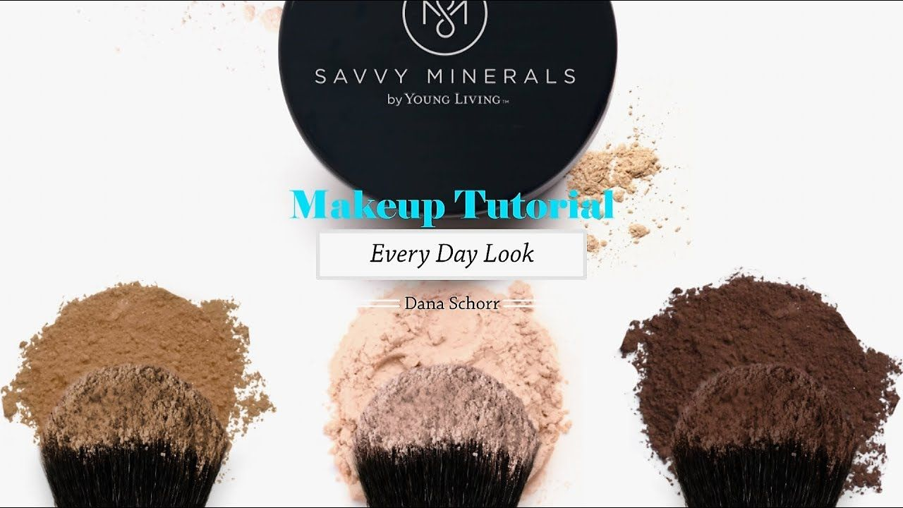 Savvy Minerals Makeup Tutorial Every Day Look Savvy
