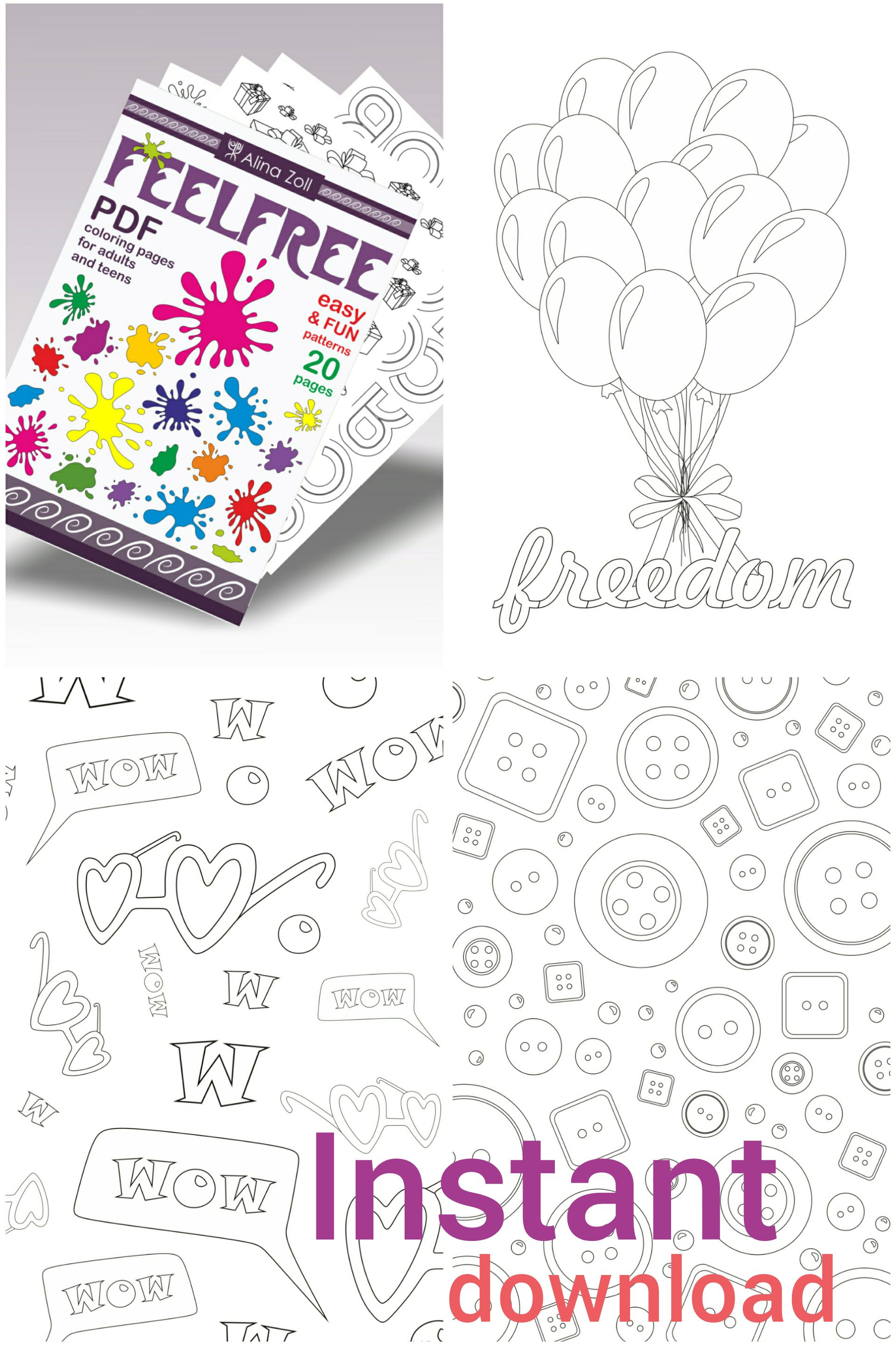 Simple Coloring Pages for Big Kids Printable, Coloring Pages for ...