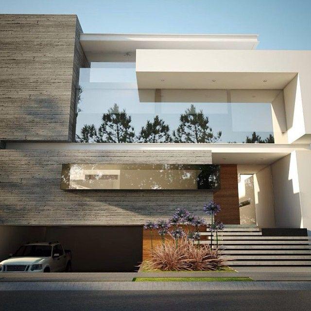 Creato On Instagram Guadalajara Casa Minimalista Moderno Arquitectos Arquitectura Diseno Terr House Front Design Modern House Exterior House Exterior