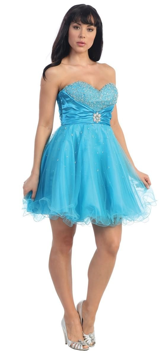 Quinceanera Moda - Dama Dress  99 Winter Wonderland theme  b28abdc6cc75