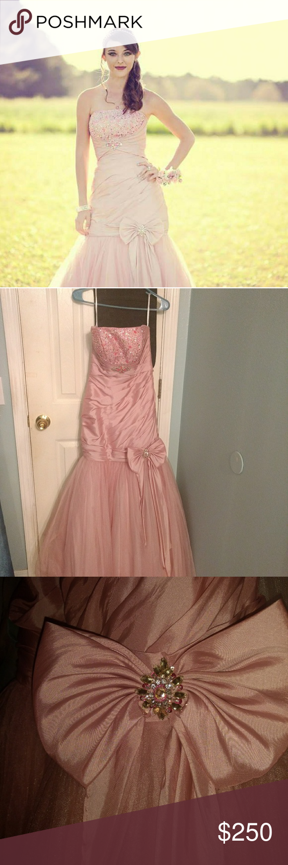 Pink tiffany formal mermaid gown mermaid gown tiffany dresses and