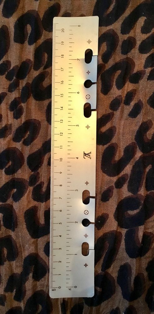 Auth Louis Vuitton Ruler Gm Agenda Large Planner Brown Rare