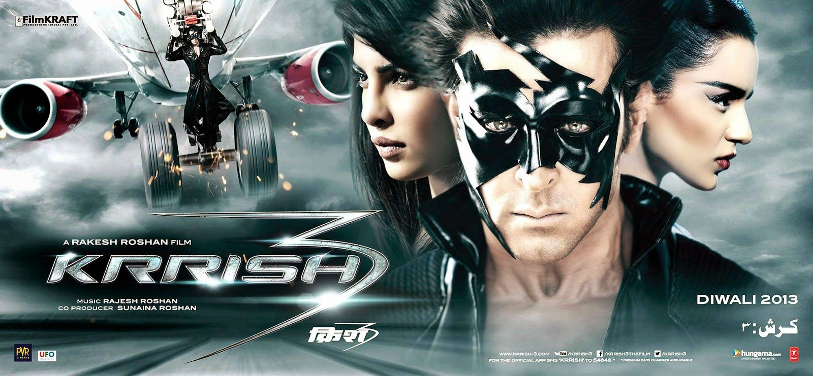 Bollywood Super Hit Movie Krrish 3 Songs Info Sound Hd Strarring