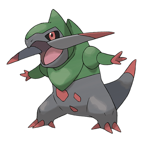 Fraxure|Pokédex | PokeDex! | Black pokemon, Type pokemon, Pokemon