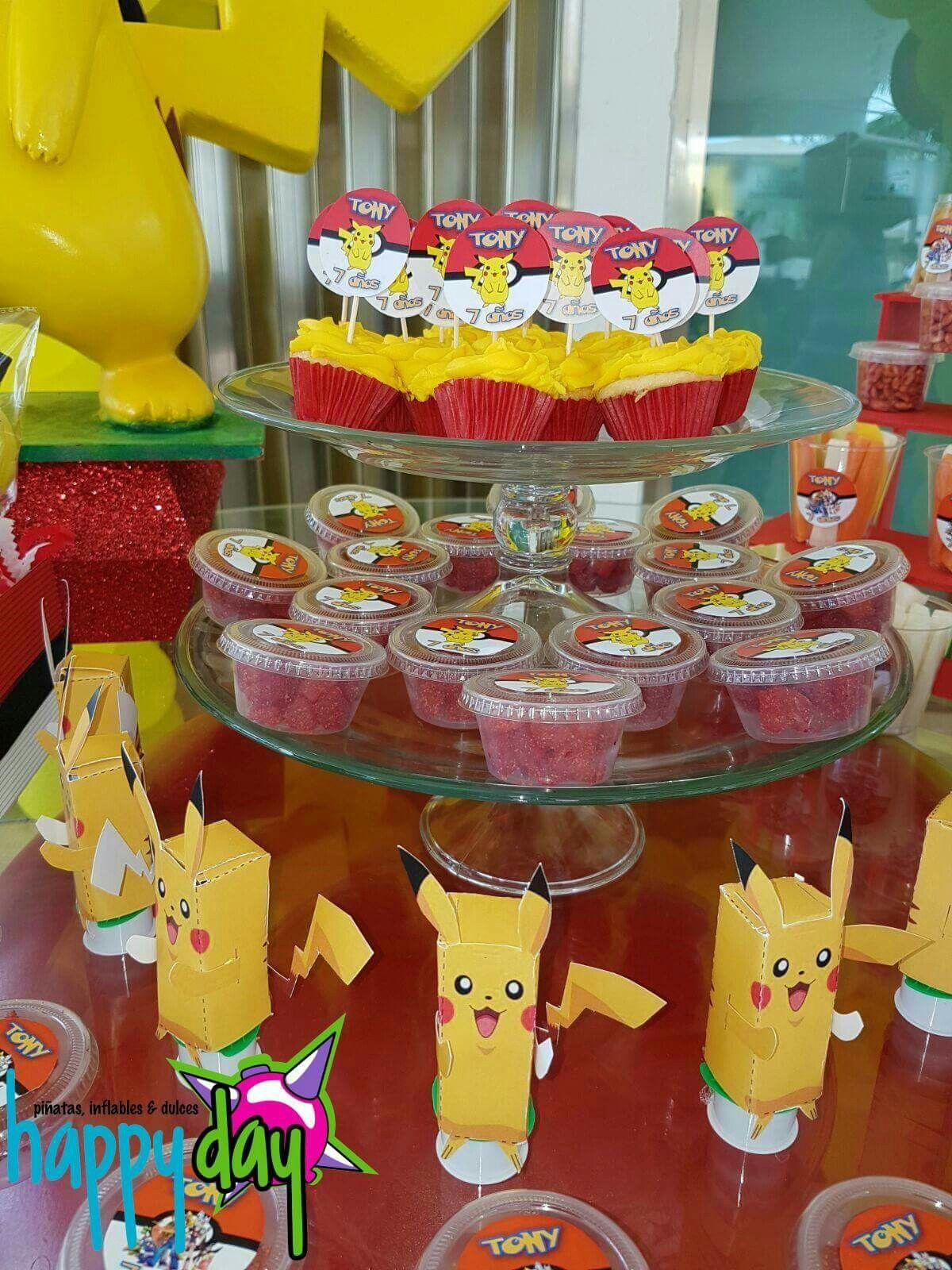 Candy Bar Pokemon Mesa De Dulces Pokemon En 2019 Mesa