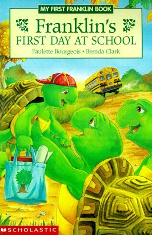 Franklin S First Day Of School First Day Of School Kindergarten First Day First Day Of School Activities