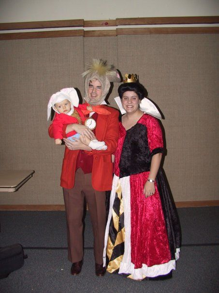2006 Alice in Wonderland: Queen of Hearts, March Hare and White Rabbit