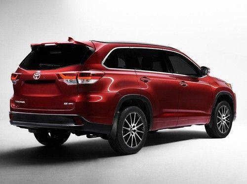Begini Tampilan Toyota Highlander Terbaru 2016 2017 Dealership Suv