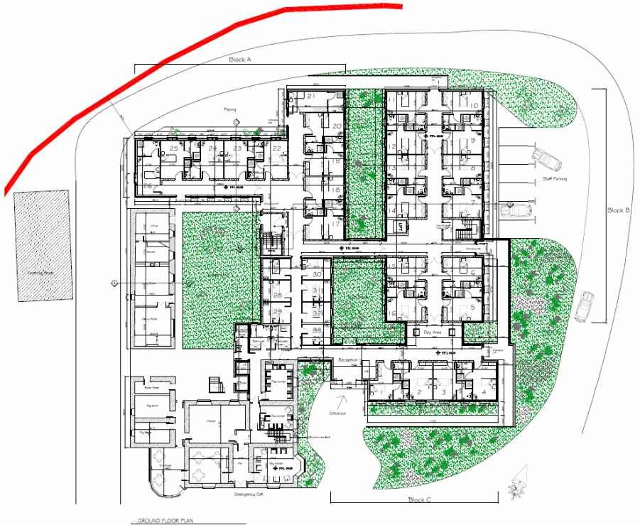 Nursing home floor plans for Dobbins homes floor plans