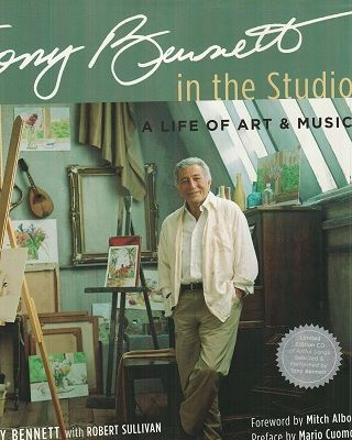 Tony Bennett the artist and his music.  A book you must have.