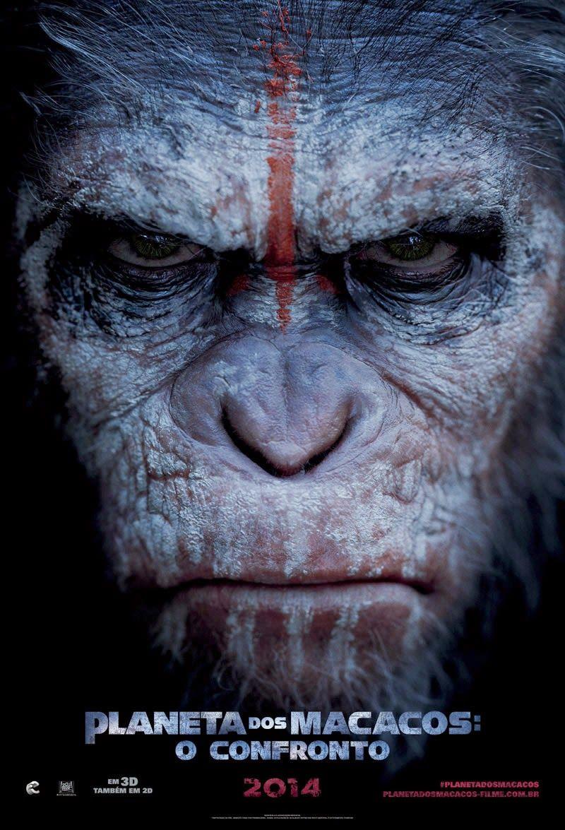 Planeta Dos Macacos O Confronto Dublado Filme Online 720p