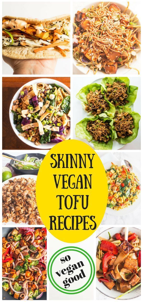 Healthy Vegan Tofu Recipes For Breakfast Lunch And Dinner