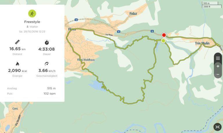 2 Seen Wanderung Vom Crestasee Zum Caumasee Reisememo