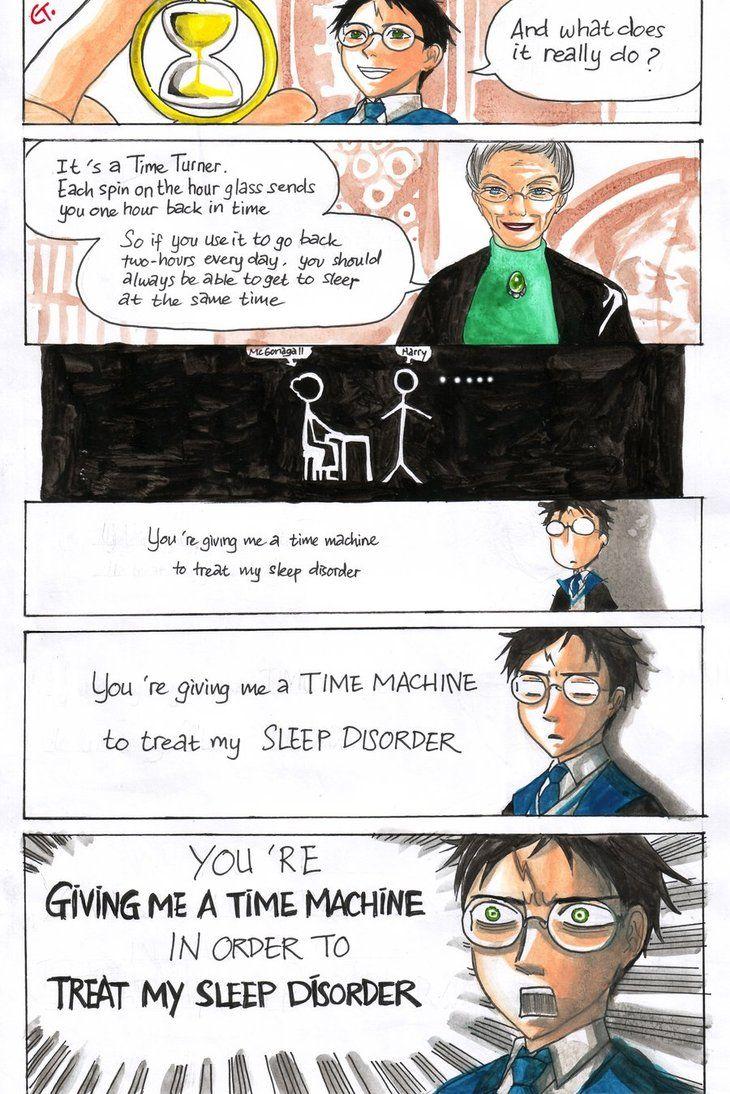 Harry Received Time Turner By Dinosaurusgede On Deviantart Harry Potter Jokes Harry Potter Funny Harry Potter Books