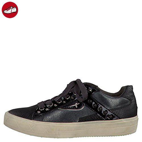TAMARIS Damen Plateau Sneakers Schwarz, Schuhgröße:EUR 38 - Tamaris schuhe  (*Partner