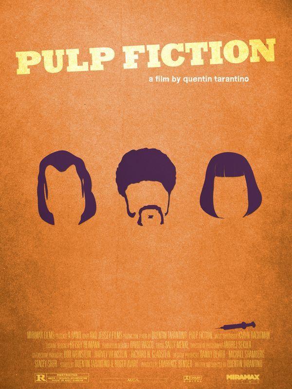Pulp Fiction (1994) ~ Minimal Movie Poster