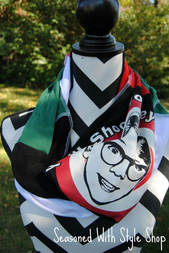 A Christmas Story  Christmas Upcycled TShirt by SeasonedWithStyle