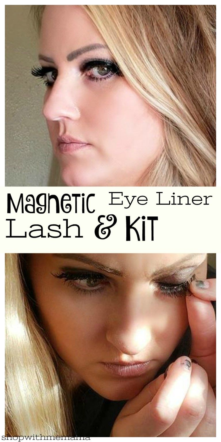 bdbe2fb9d1e Magnetic Eyeliner and Lash Kit! #LashLiner #lashes #eyelashes #beauty  #review #giveaway #magnetic #magneticlashes