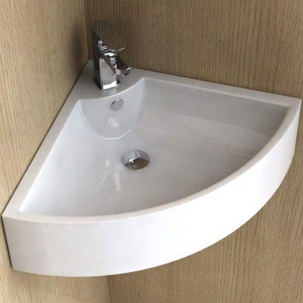 lave mains d angle 48 cm ceramique