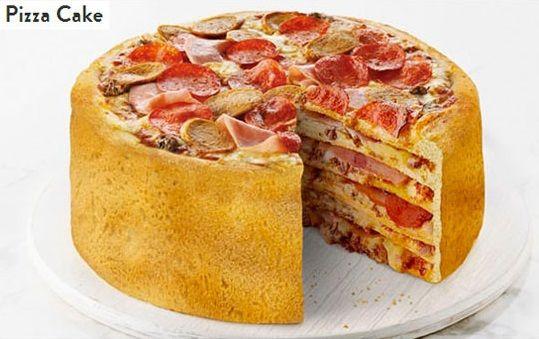 pizza cake ...overload