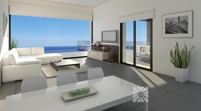 Afbeeldingsresultaat voor moderne luxe villa woonkamer | My ...