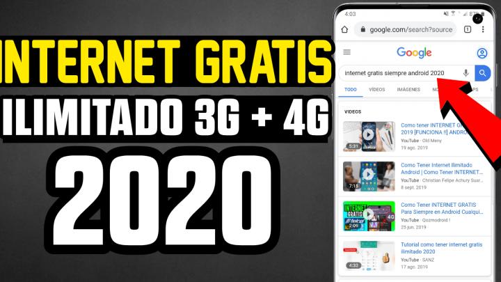 Cómo Tener Internet Gratis Siempre En Cualquier Android 2020 Como Tener Internet Internet Trucos Para Teléfono