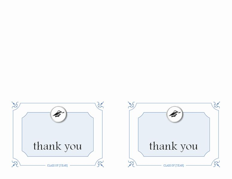 Blank Thank You Card Template Unique Blank And General Fice Thank You Cards Thank You Card Template Card Template