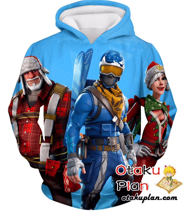 Fortnite Hoodie Alpine Ace And Christmas Skin Promo Anime