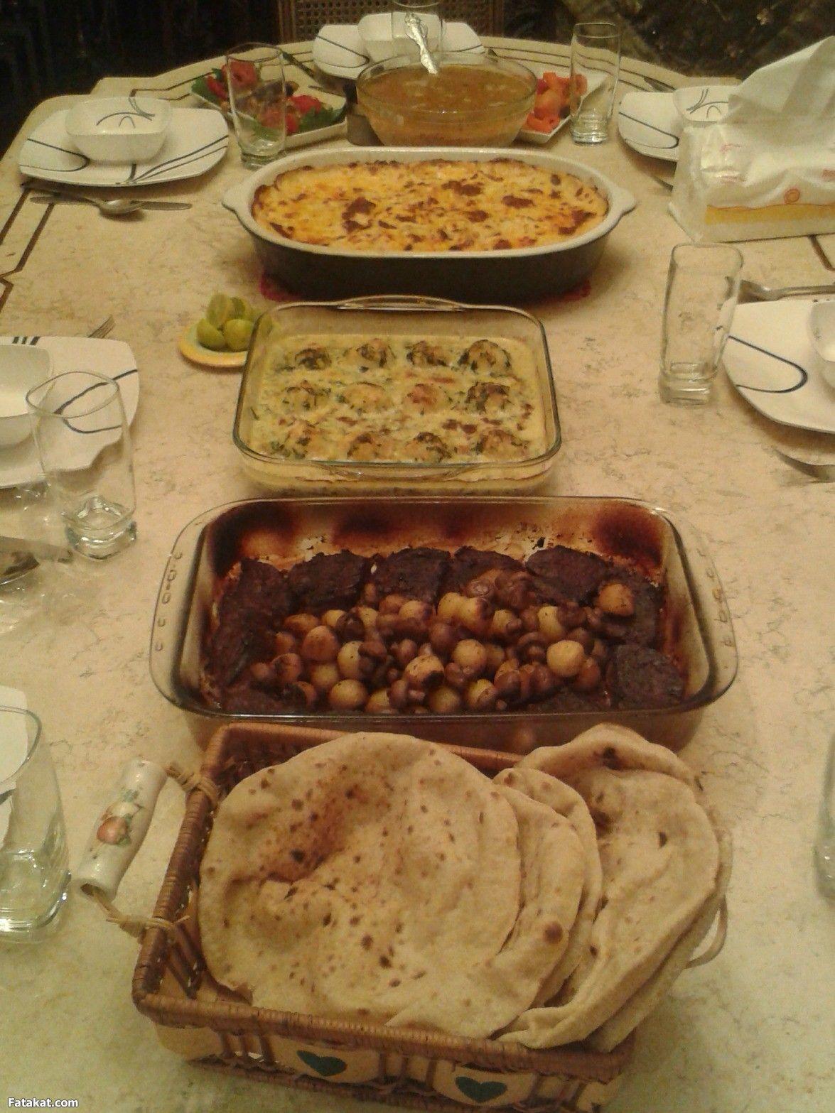 عزومة تانى يوم رمضان منتدى فتكات Recipes Food Meat