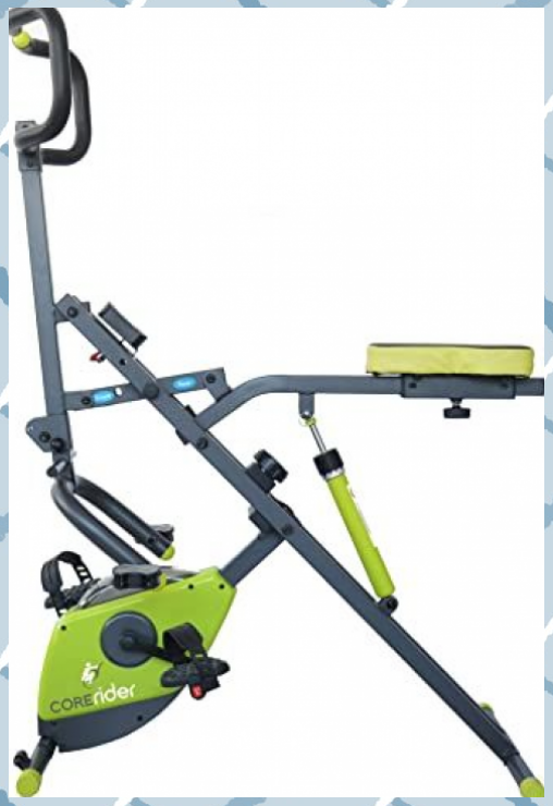 Corerider 2-in-1 CORE and AB Fitness Machine Delivers a Full Body Workout Combin... #2in1 #body #Com...