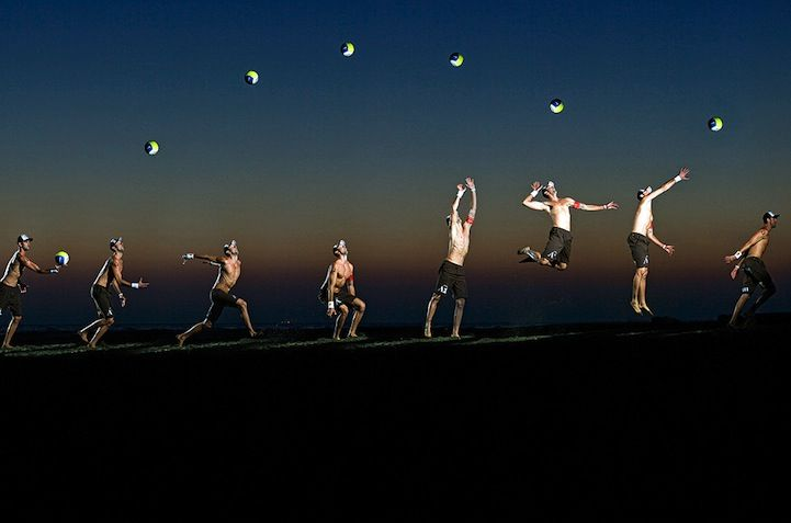 Sequences of Extreme Sports Motion Merged Into One Image | By Rutger Pauw || #Sport #Photography.