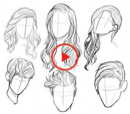 Drawing Reference Hair Male Sketch 19 Ideas For 2019 Drawing Hair Ideas Male Reference In 2020 Hair Sketch Face Drawing Sketches