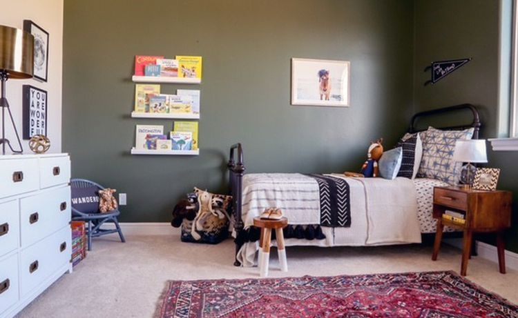 9 Best Paint Colors For A Boy S Room Boys Bedroom Colors Green