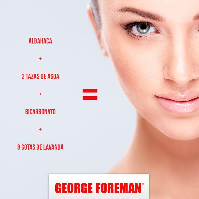 ¿Sufres de puntos negros en tu cara? Prepárate este remedio, ¡te encantará! #remedio #cutis #mujer #imperfecciones #georgeforemanmx