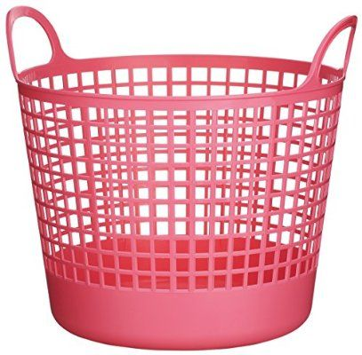 Like It Scb 1 Plastic Round Laundry Basket 14 76 Inch H By 16 14