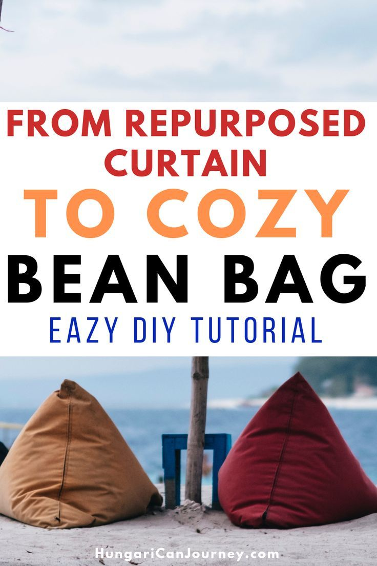 Enjoyable How To Make A Pyramid Bean Bag Chair Out Of Old Curtains Caraccident5 Cool Chair Designs And Ideas Caraccident5Info