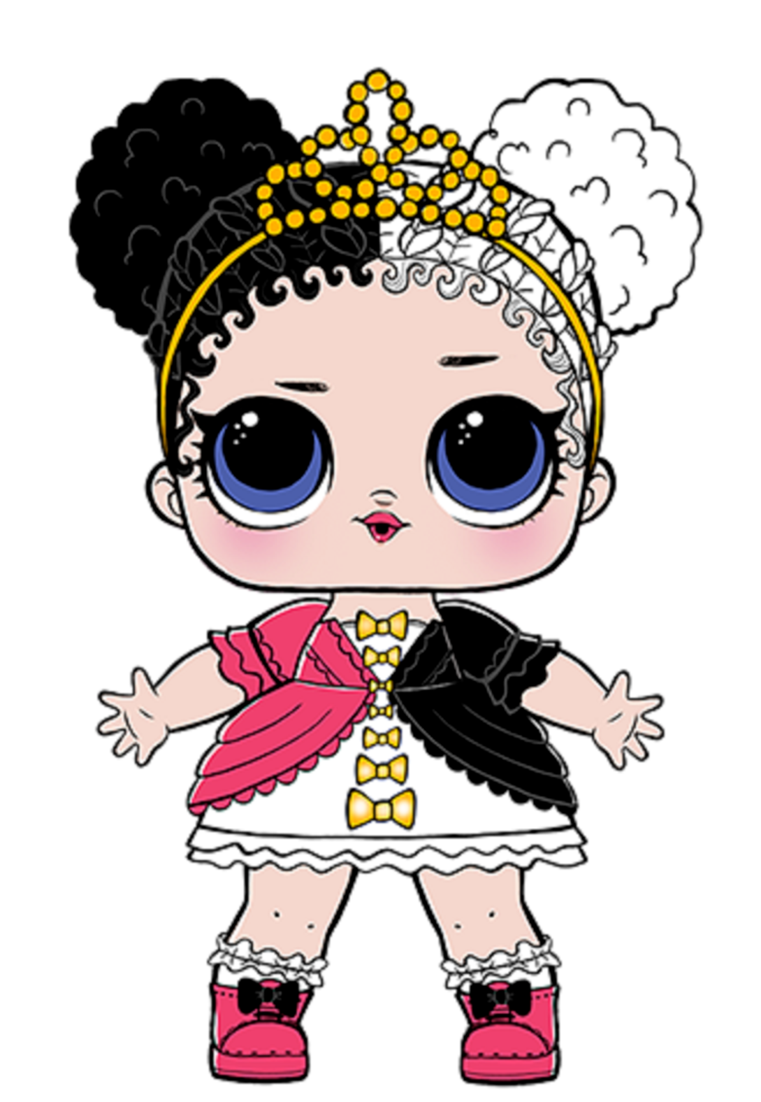 Pohozhee Izobrazhenie Lol Dolls Lol Baby Girl Art
