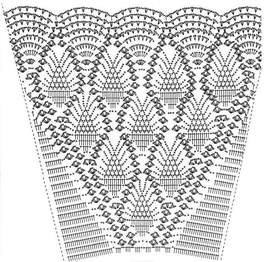 Crochet Pineapple Skirt Pattern Craft Ideas Pinterest Crochet