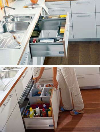 under sink idea For the Home Pinterest Sinks, Spaces and Kitchens