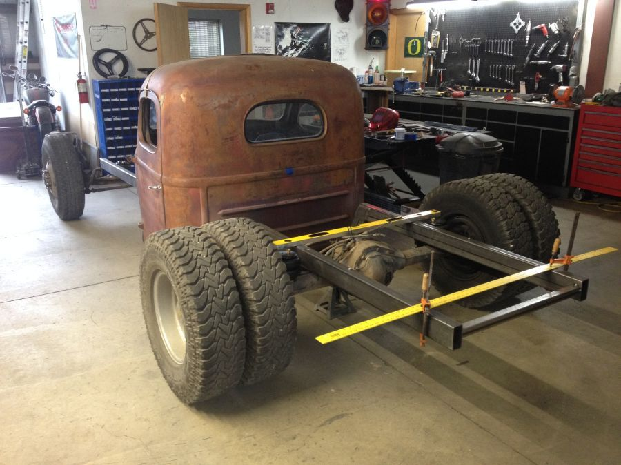 1948 International KB-2 Cummins Powered, Dually Build ...