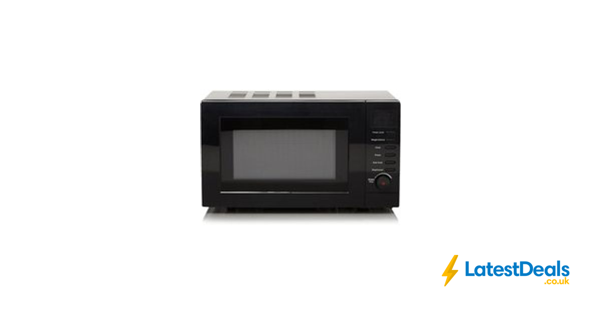 Digital Microwave 17ltr Black Free C 35 At Asda