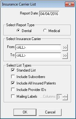 Find The Patients Attached To Each Insurance Plan In Dentrix