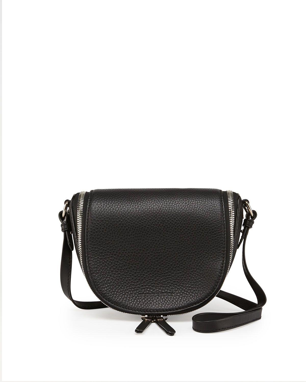 Burberry Small Leather Zip Crossbody Bag