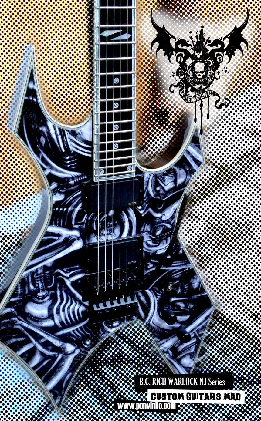 Bc Rich Warlock Nj Guitar Guitar Obsession Cool Guitar