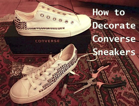 fa1a1ad61b4e cheap converse all star shoes. How to Decorate Converse Shoes