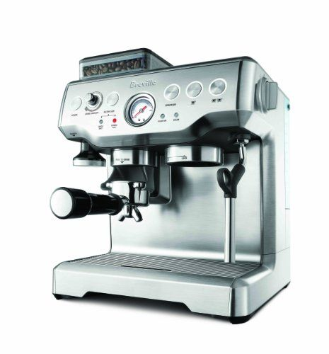 Breville Barista Express BES860XL Machine with Grinder With its integrated conical burr grinder and dosing control, The Barista Express delivers the optimum path from espresso bean to thick crema in less than two minuteshttp://targetshoppingonline.com/breville-barista-express-bes860xl-machine-with-grinder.html