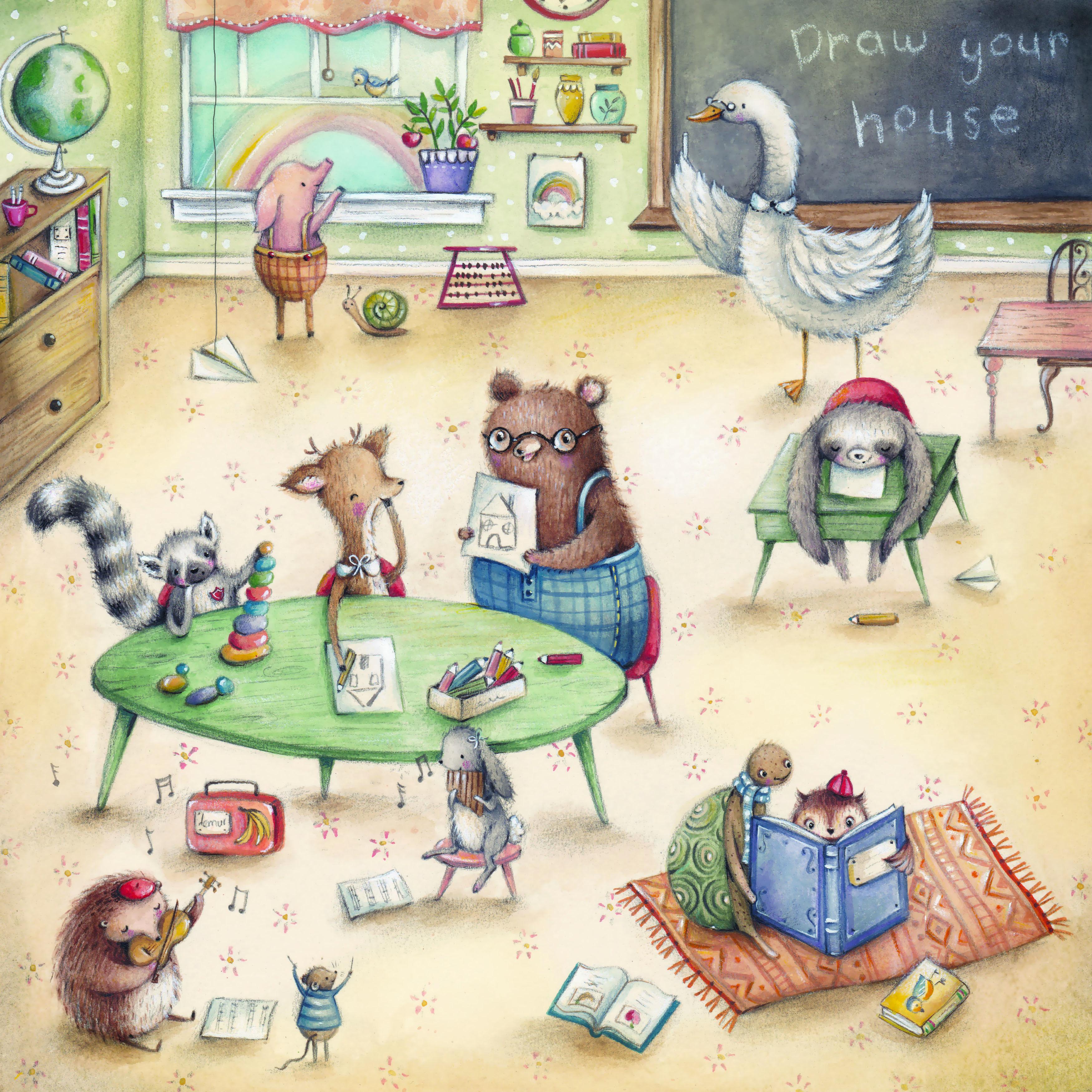 Animal Illustration Watercolour Classroom Storybook Children Book Childrens Illustration Childrens Books Illustrations Childrens Illustrations Illustration Art